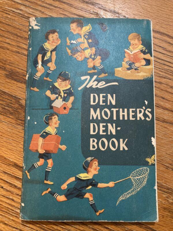 VINTAGE 1956 THE DEN MOTHERS BOOK
