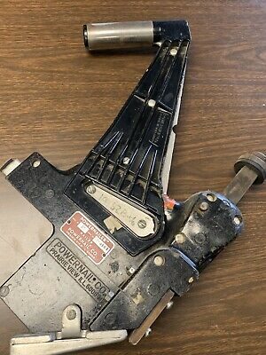 Powernail Model 45 Manual Floor Nailer Used Free Shipping.