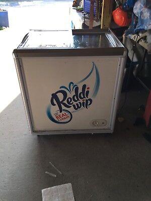 Working Condition Reddi Whip Supermarket Electric Spot Refridgeratorfreezer