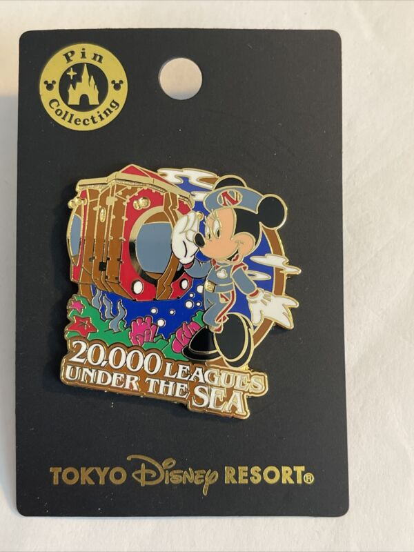 Disney 20,000 Leagues Under The Sea - Minnie Mouse Tokyo Disneyland Pin B