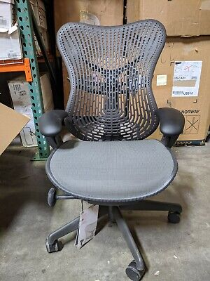 Herman Miller Mirra Fully Adjustable Office Chair In Graphite Open Box
