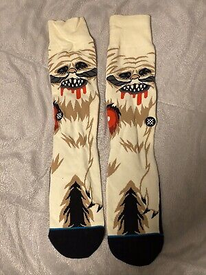 Stance Star Wars Wampa Socks Empire Strikes Back Episode 5 V -Men's Sz 8-12 OEM