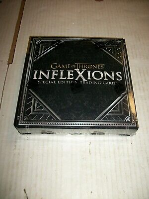 GAME OF THRONES INFLEXIONS Special Edition Trading Cards FACTORY SEALED BOX