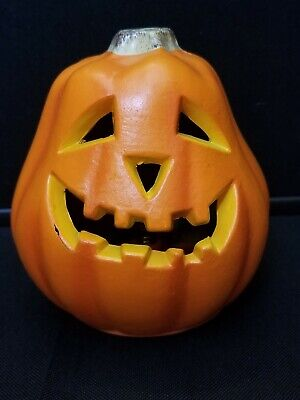 "Vtg 1998 The Paper Magic Group Halloween Indoor Jack O Lantern Blow Mold 5.5"" #2"