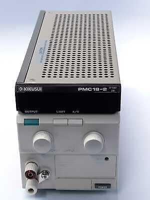 Kikusui Pmc18-2a Power Supply 18 Vdc 2a