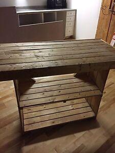 Pine WorkBench $20