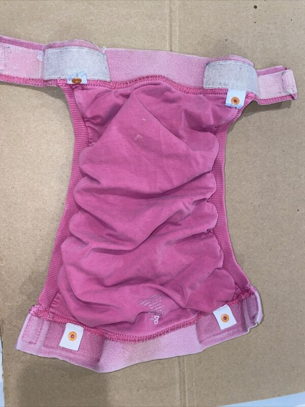 gDiapers - Group 3 - Large Pink Gpant, 2 Liners, and 2 Gcloth Inserts