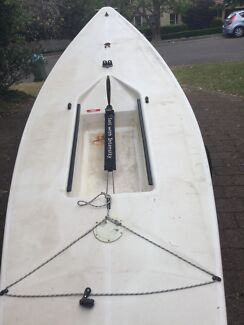 Laser Sailing  - hull only Pymble Ku-ring-gai Area Preview