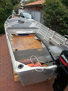 Quintrex 420 widebody dory Manning South Perth Area Preview