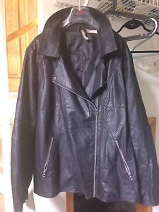 NEW Women's 2X Leather Jacket