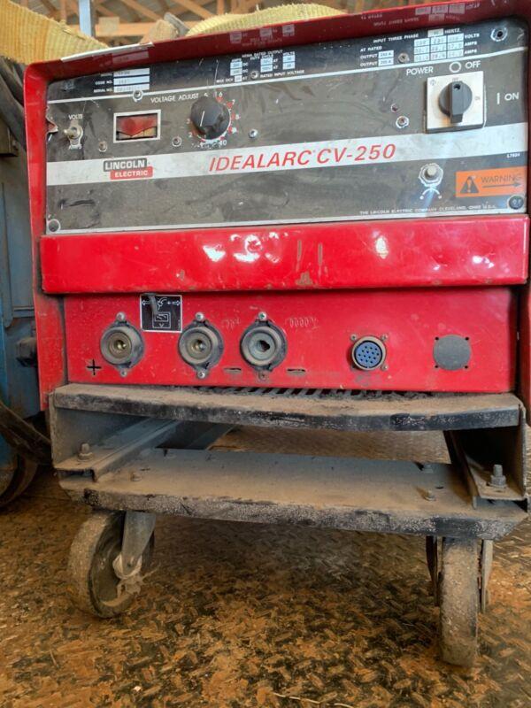 lincoln idealarc cv-250 welder