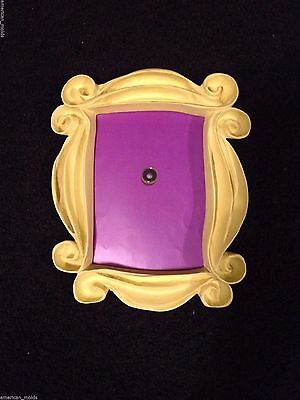 Friends Frame - Friends TV Series show yellow Peephole frame Seen on Monica's Door Free Shipping