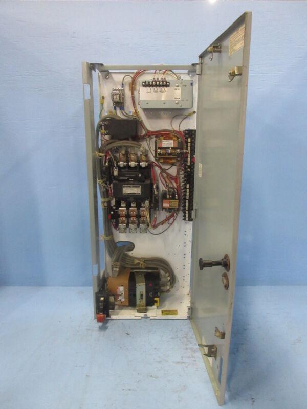 "General Electric GE 8000 Size 4 Starter 150 Amp Breaker Type 36"" MCC Bucket TEC"