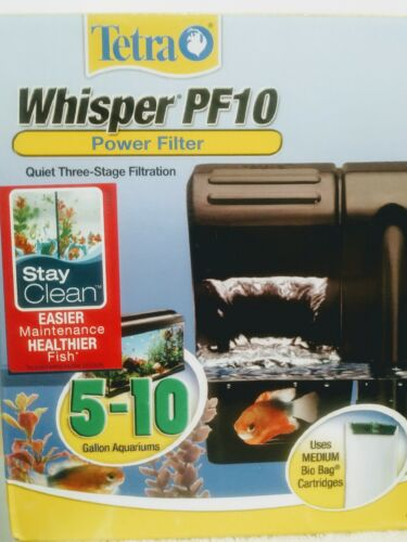 Tetra Whisper PF10 Tank 3 stage Filtration,5-10gallon Stay C