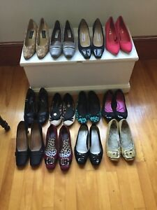 12 pairs of shoes! Ranges 7-8