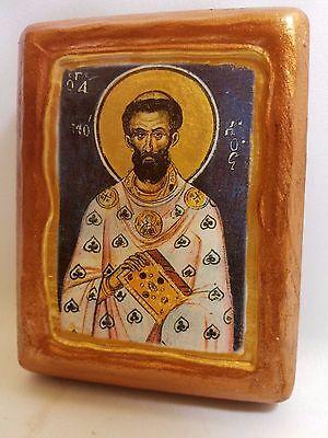 Saint Mochius Mochios Agios Mokios Hieromartyr Christianity  Greek Orthodox Icon