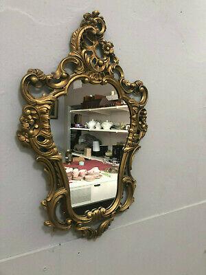 Wandspiegel Antik Barock Rokoko Jugendstil Gold Engel Putten Prunk Spiegel Edel