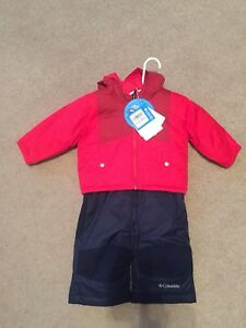 New with tags - Columbia two piece snowsuit.