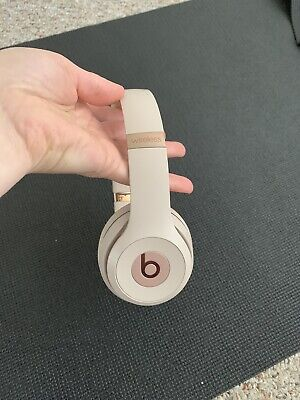 Beats by Dr. Dre Solo3 Wireless Headphones Satin Gold (A)