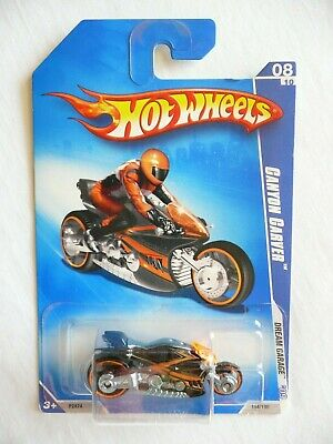 Hot Wheels 2009 Dream Garage 154/190 Canyon Carver 8/10 Black Diecast NEW