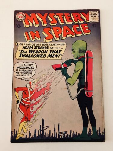 Mystery in Space #63 - Adam Strange (DC Comics; Nov, 1960) - Fine
