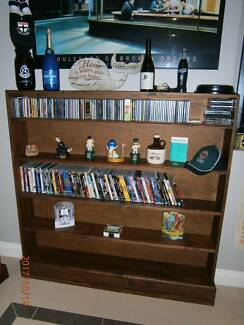 Pine Book/DVD/CD Shelves