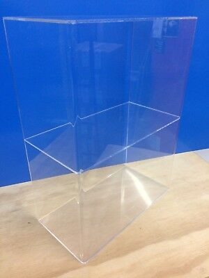Ds-acrylic Lucite Countertop Display Showcase Cabinet 12 X 8 X 16h 1 Shelf