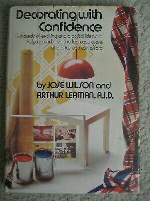 Decorating with Confidence RETRO 70s Ideas PICTURES Jose Wilson HC DJ - 1970s Decorating Ideas