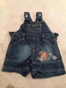 Baby boys size 000 clothes (cute summer overalls) High Wycombe Kalamunda Area Preview