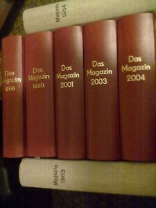 Das Magazin 1954-2005 52 Jahresbände gebunden Seltene Rarität Klemke-Kater & Co.