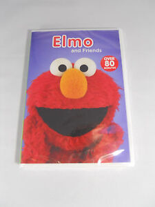 Elmo and Friends Elmopalooza & Elmo's World: Singing Drawing and More DVD NEW