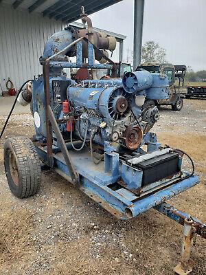 Mosherflo St- 8 Trash Pump Deutz Diesel Powered