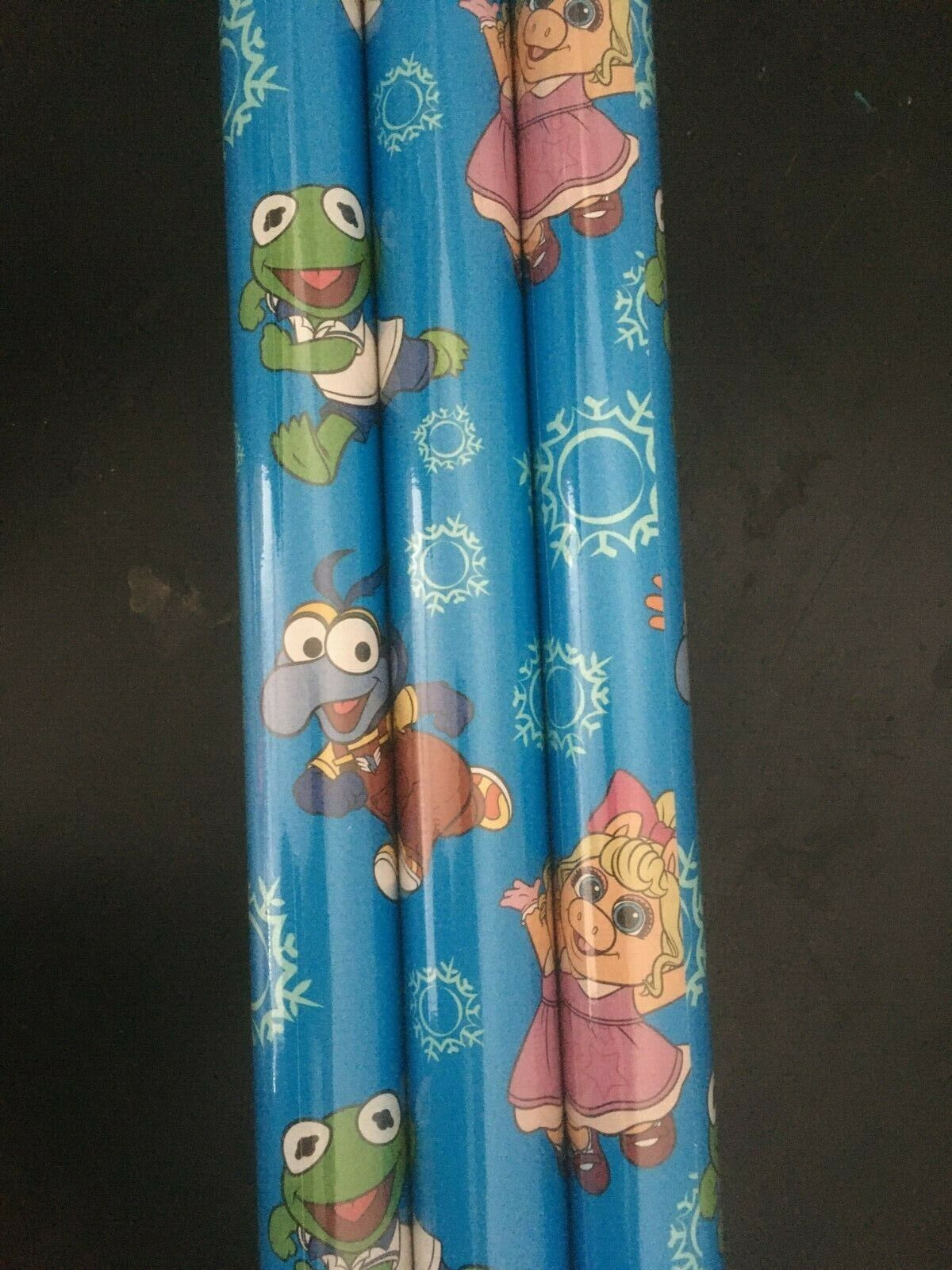 Disney Muppet Babies GIFT WRAP WRAPPING PAPER ROLL CHRISTMAS