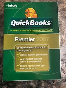 Quick Books Premier - New Not Opened! updatable