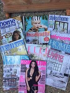 Assorted lifestyle  and interior design magazines Indooroopilly Brisbane South West Preview