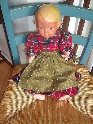 Alte Schildkrötpuppe Inge Puppe Puppen Antik