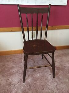 Wooden chair antique maybe