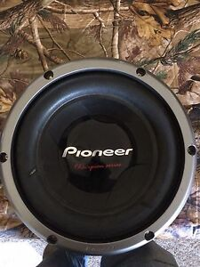 "10"" Pioneer Champion Series Subwoofer"