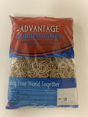 Advantage Rubber Bands Size 10 1-14 X 116 Heavy Duty Made In Usa