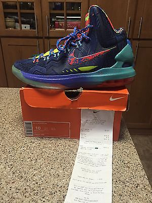 Nike KD 5 What The 100% Authentic With Receipt Men's Size 10