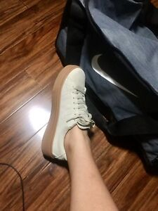 Zara Basic Collection Suede Sneakers (size 8.5/8)