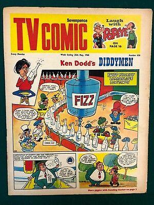 TV COMIC #858 weekly British comic book May 25 1968 Doctor Who in full color