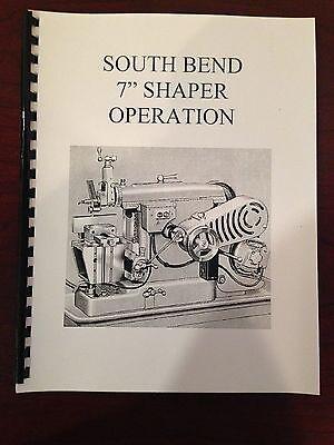 South Bend 7 Shaper Manual Maintenance Parts