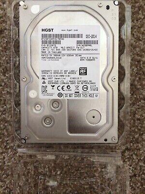 HGST Deskstar 6TB SATA 6Gbps 128MB cache 3.5