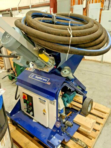 Used Graco ToughTek MP20 Continuous Mixer for Water-based Cementitious Material