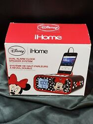 DISNEY iHome Dual Alarm Clock and Speaker System for MP3 and Smartphone DM-M23.2