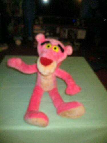 "26"" Semi Posable PINK PANTHER Plush United Artists Mighty Star"