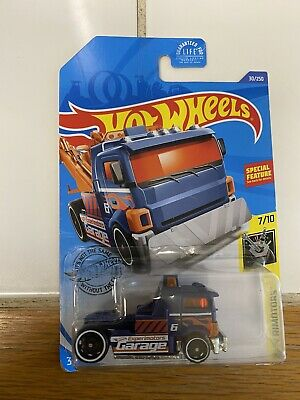 HOT WHEELS ERROR HEAVY HITCHER WITHOUT THE BOOM