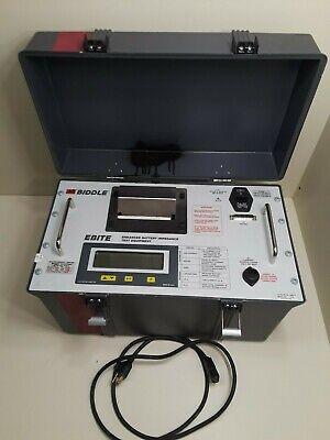 Avo Biddle Megger 246013 Ebite Enhanced Battery Impedance Tester