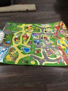 Kids Play Mat 5 foot x 3 Foot